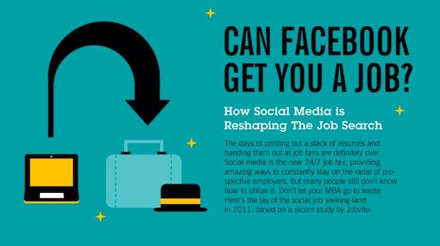 Social Media: Sprungbrett für die Jobsuche