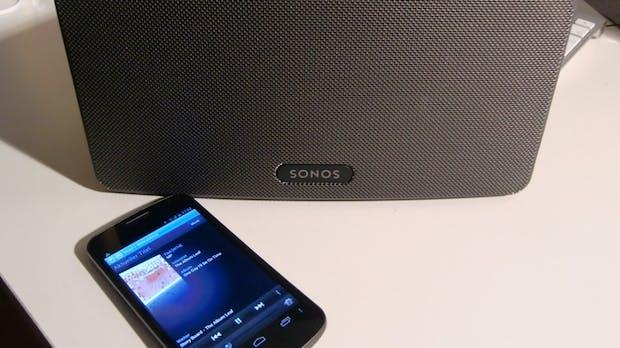 Sonos Play:3 WiFi-Lautsprecher im Test – Intuitives Bedienkonzept mit tollem Sound