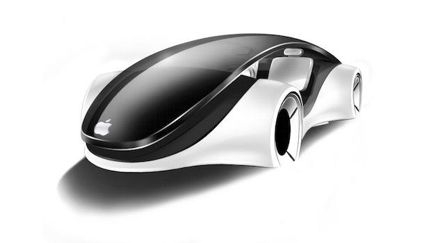 Apple Designstudien gibt es für viele Produkte - jetzt auch für Autos (Bild: Apple Designstudie von Franco Grassi).