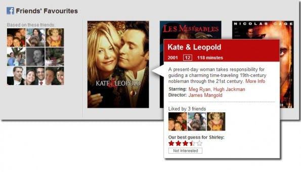 Netflix FriendsRow