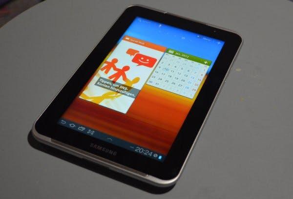 Neues Samsung Galaxy Tab 7.0 Plus umgeht von Apple erwirktes Verkaufsverbot