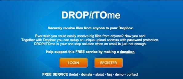 dropbox drop it to me