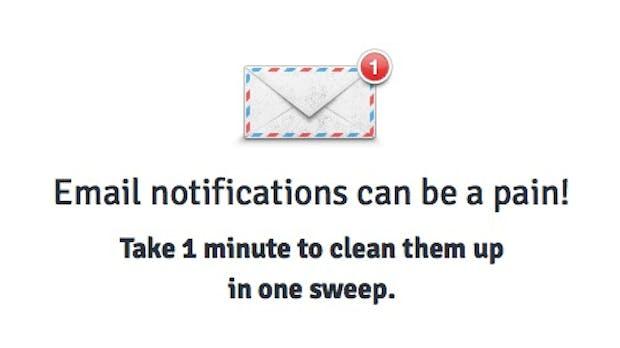 Notification Control – Kampf den E-Mail-Benachrichtigungen