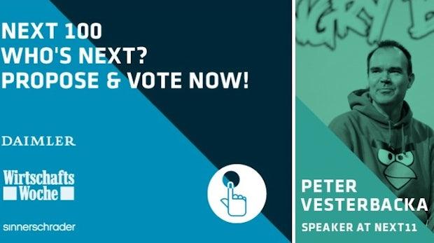 Next Berlin 2012: Wer sind die 100 wichtigsten Trendsetter?