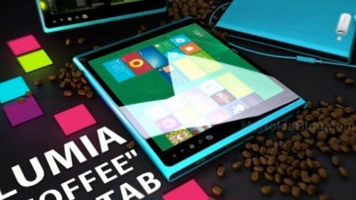 Nokia Lumia-Tablet – schickes Konzept mit Windows 8