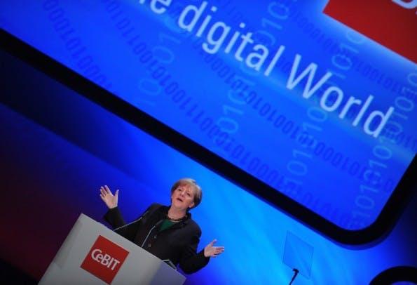 CeBIT 2011 (1. bis 5. März) Bundeskanzlerin der Bundesrepublik Deutschland, Dr. Angela Merkel