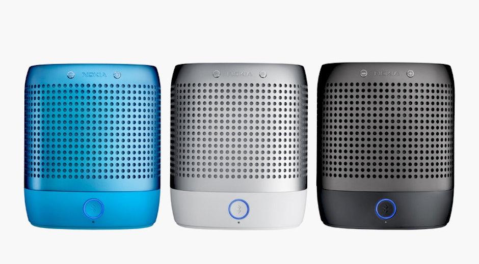 nokia play 360 bluetooth lautsprecher t3n digital pioneers. Black Bedroom Furniture Sets. Home Design Ideas