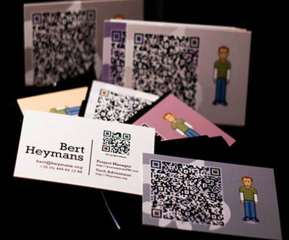 60 Visitenkarten Mit Qr Code Zur Inspiration Bildergalerie