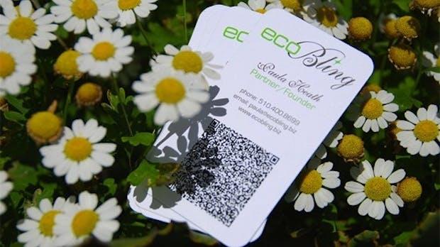 60 Visitenkarten mit QR-Code zur Inspiration [Bildergalerie]