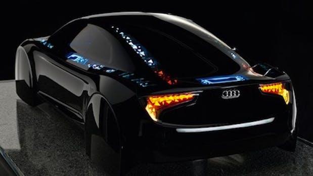 Audi baut das Tron-Auto mit OLED-Elementen [Prototyp]