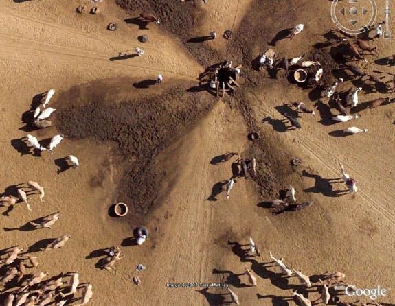 Google Earth und National Geographic haben sich zusammen getan und mit dem Projekt Africa Megaflyover über 500 hochauflösende Bilder in Google Earth zur Verfügung gestellt. Gefunden bei PCWorld.