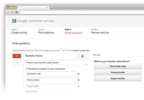 google kundenbefragungen