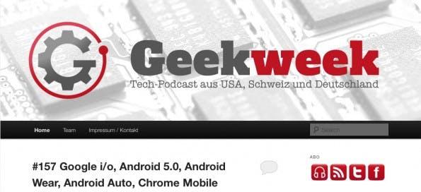 Geek Week berichtet einmal wöchentlich über aktuelle Tech-Themen