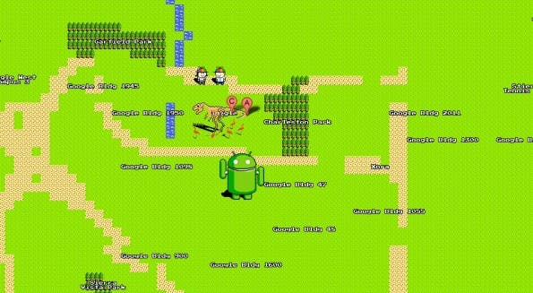google 8-bit-maps headquarter