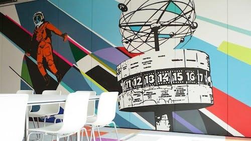 Erste bunte Bilder der neuen Google Büros in Berlin [Galerie]