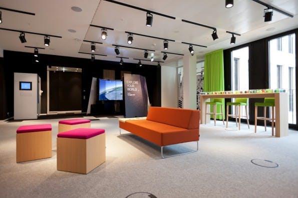 Um das produktive Büro zu ermöglichen, sollten Unternehmen auch Ruhezonen für ihre Mitarbeiter schaffen. (Foto: t3n.de)
