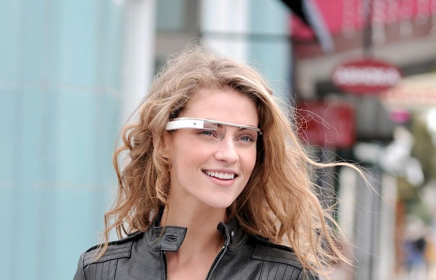 So oder ähnlich soll Project Glass aussehen.