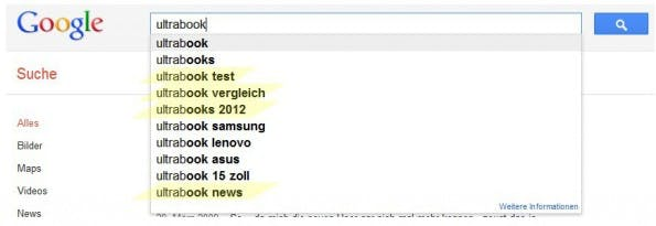 Tagpages SEO: Google suggest