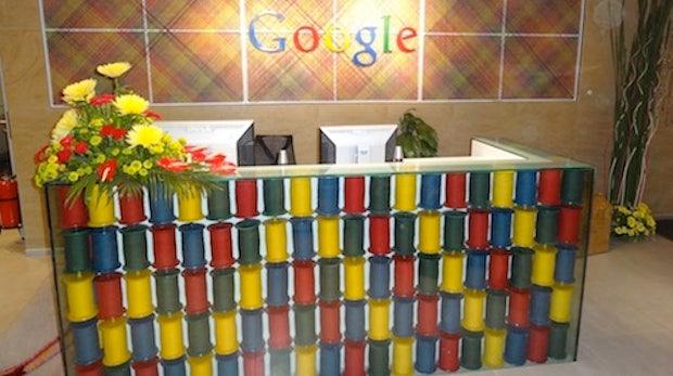 Google Büros in Mumbai - exotisch und knallbunt