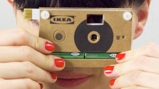 IKEA baut Karton-Kamera mit USB-Anschluss