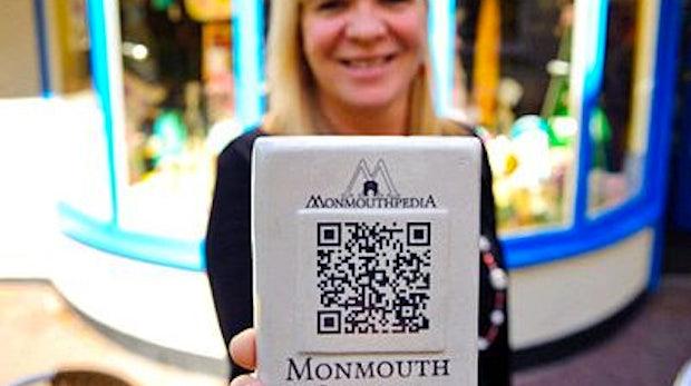 Monmouth: Begehbare Wikipedia-Stadt setzt auf QR-Codes