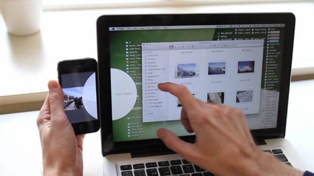 Geniales UI-Design macht Drag'n'Drop zwischen Geräten zum Kinderspiel