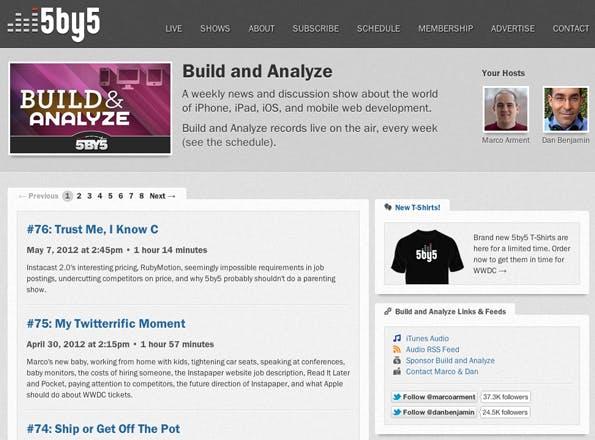 Build & Analyze