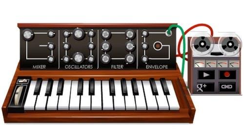Google Doodle: Virtueller Synthesizer zum Geburtstag von Robert Moog