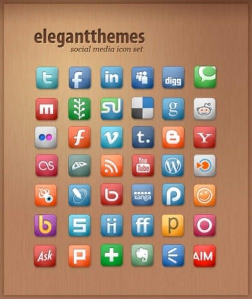 Kostenlose Icon-Sets