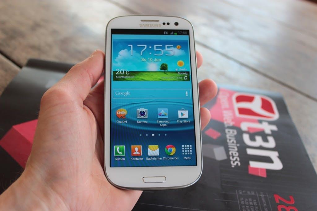 20. Samsungs Galaxy S3 (oder Galaxy SIII)  ging 60 Millionen Mal übe die Ladentheke. (Foto: t3n.de)