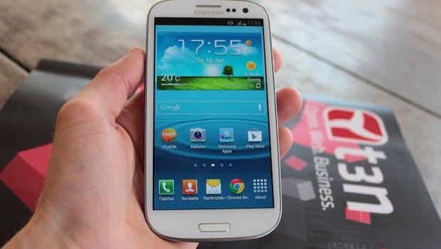 20. Samsungs Galaxy S3 (oder Galaxy SIII)  ging 60 Millionen Mal über die Ladentheke. (Foto: t3n.de)