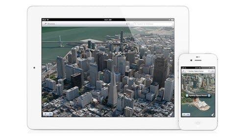 iOS 6: 3D-Maps auf iPhone 4 gehackt
