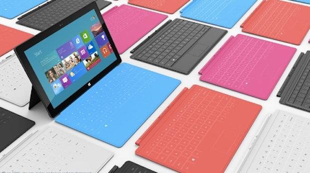 Microsoft Surface: Preise des Windows RT-Modells bekannt [UPDATE]