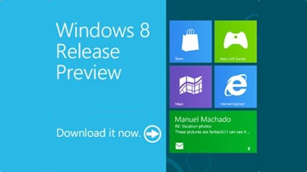 Windows 8 Release Preview – neue Features in der Übersicht