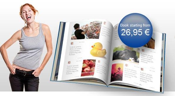 Timeline-Buch: Facebook Chronik als gedrucktes Hardcover
