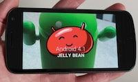 Android 4.1 Jelly Bean – Erste Eindrücke auf dem Galaxy Nexus [Screenshots]