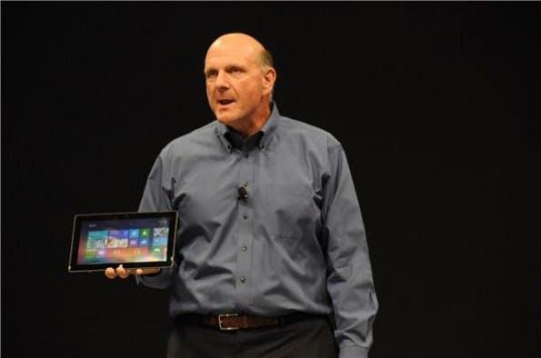 Steve Ballmer präsentierte kürzlich das Surface