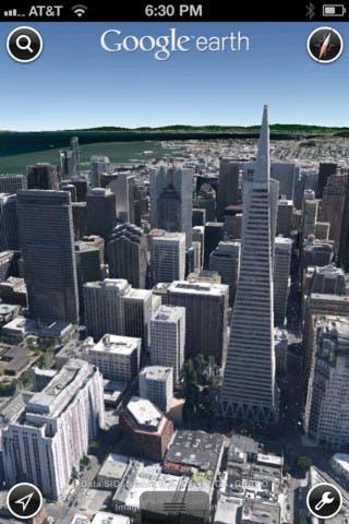 Google Earth für iOS jetzt mit 3D-Bildern