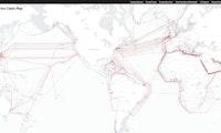 Interaktive Weltkarte aller Internet-Unterseekabel