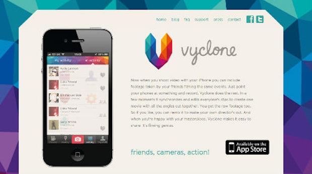 Social Video: Vyclone-App macht aus mehreren Blickwinkeln einen Clip