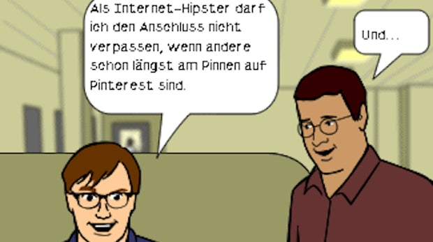 Pinterest: Hype und Realität [Comic]