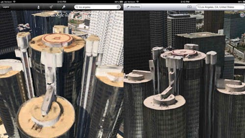 Apple Maps: 3D-Modus lässt Google Earth alt aussehen