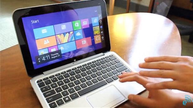 HP Tablet-Hybride Envy x2 und Ultrabook SpectreXT TouchSmart vorgestellt