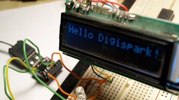 Digispark – der ein Euro große Arduino-Rechner für 12 Dollar