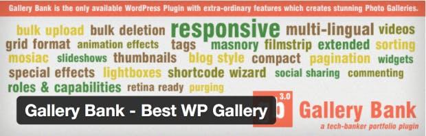Gallery Bank für WordPress
