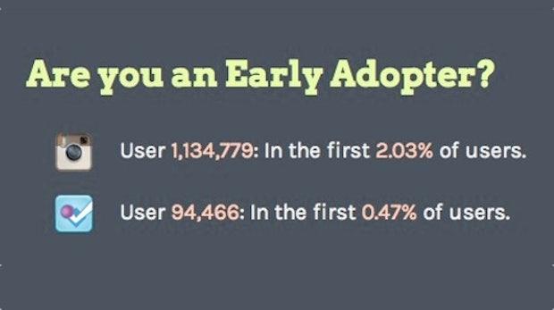 Bist du ein Early Adopter? Diese Website sagt es dir