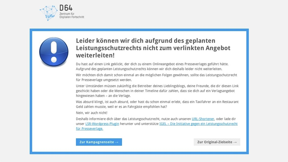 Wordpress Plugin Leistungsschutzrecht Lsr Stopper T3n Digital