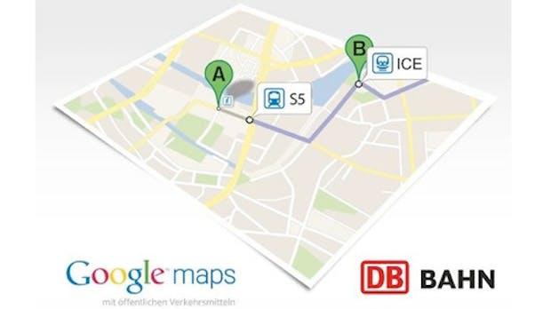 Google Maps integriert Fahrpläne von München und Münster