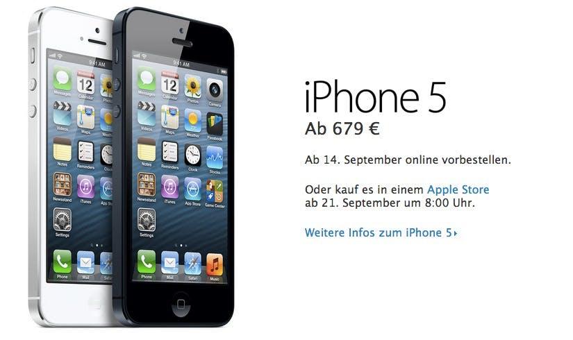 Altes iPhone verkaufen: Bis zu 450 Euro Finanzspritze für iPhone 5