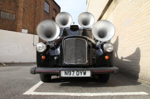 Gelungene PR-Aktion: Sound Taxi verwandelt Straßenlärm in Musik